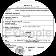 Copy Birth Certificate
